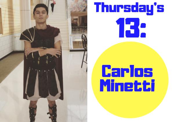 Thursday's 13: Carlos Minetti