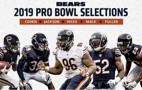Bears' Players honored with Pro Bowl selections