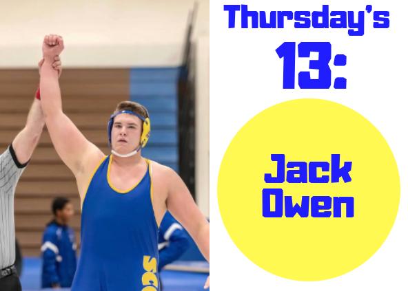 Thursdays 13: Jack Owen