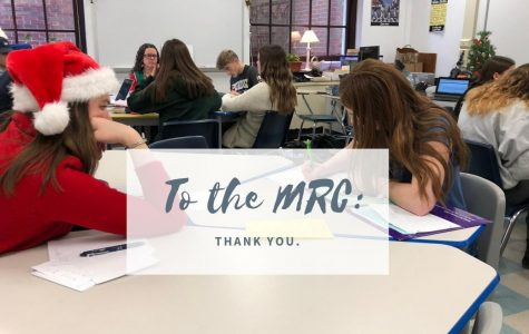 A Thank You to the MRC