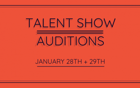 Talent Show Auditions Set for Jan. 28th, 29th