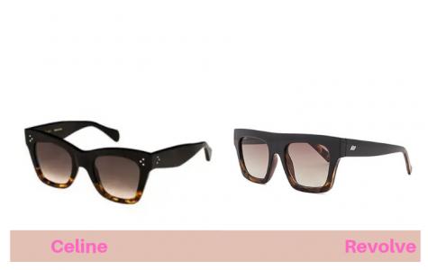 8d962ee7e0 These tortoise  Shield  sunglasses were a big hit
