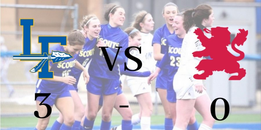 Girls+Varsity+Soccer+Opens+Their+Season+With+a+Shutout+Win