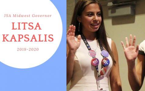 Litsa Kapsalis is JSA's 2019-2020 Midwest Governor!