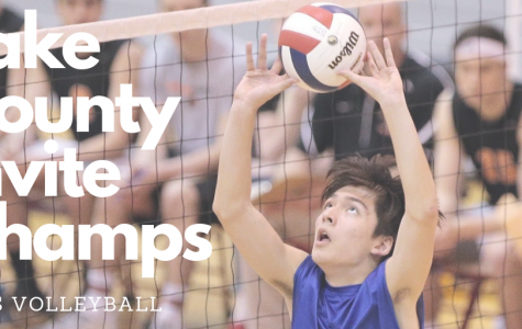Boys Volleyball places 1st in Lake County Invite