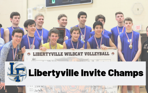Boys Volleyball wins Libertyville Invitational for second straight year