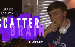 Oliver Kuhn poses while creating a beat on FL Studio, his program of choice. Kuhn has received thousands of streams on SoundCloud in recent months under the alter ego .PACE.