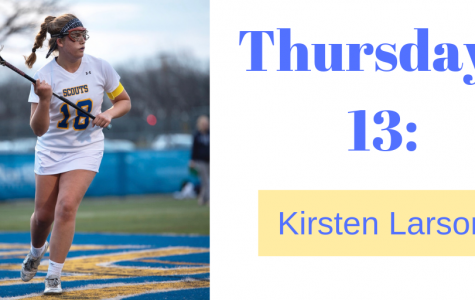 Thursday 13 with Kirsten Larson