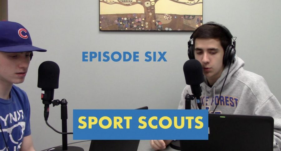 Goodsir and Raupp are back in the studio to discuss the latest in the sports world.