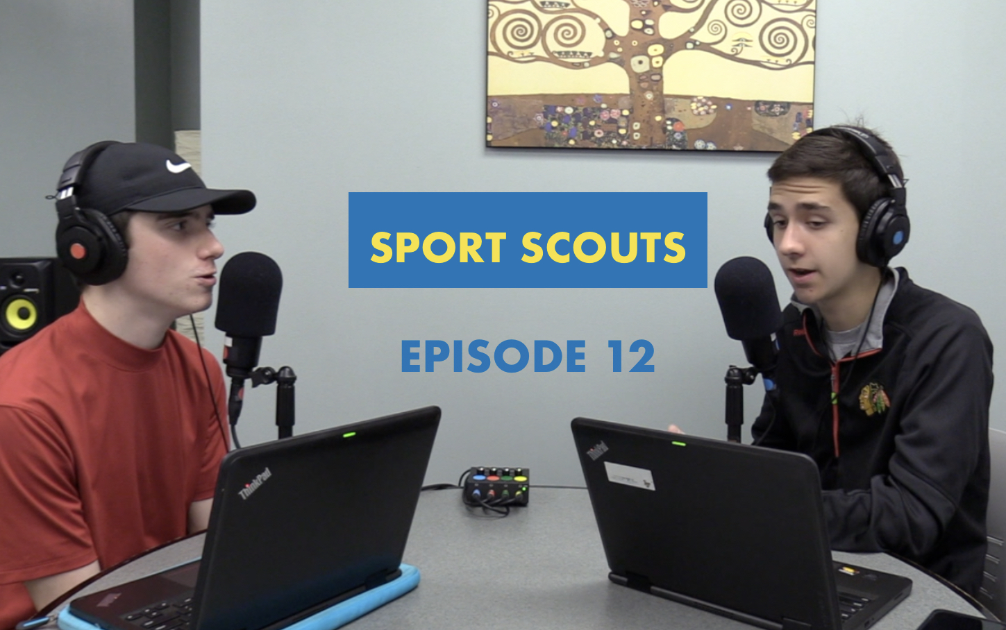 Goodsir and Raupp are back in the studio for a big sports week. Goodsir dons a familiar look to cheer on his favorite golfer on PGA Championship Thursday.