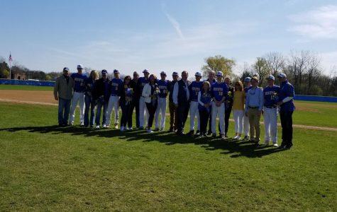 Varsity baseball sweeps double header over weekend