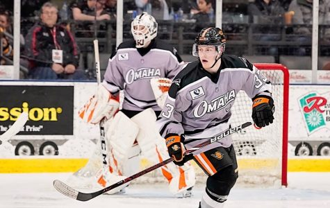 Matt Basgall is committed to play Division I hockey at Michigan State. First, he'll travel the country with the USHL's Omaha Lancers.