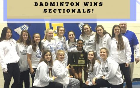 Badminton Wins Sectionals!
