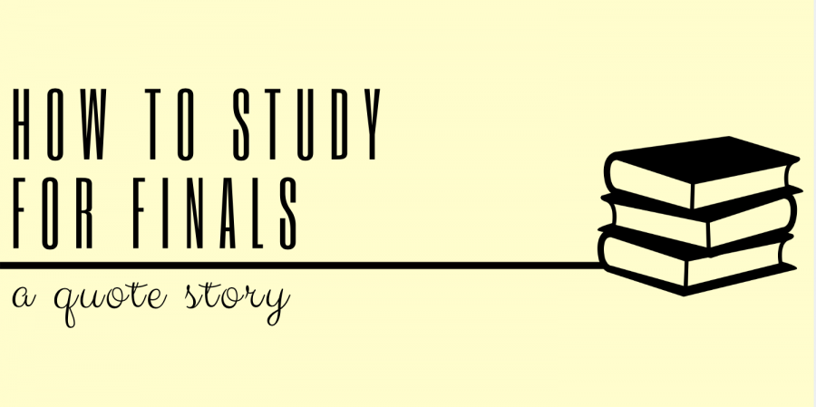 How to Study for Finals: A Quote Story