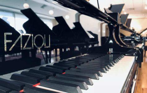 Music Department purchases Fazioli piano