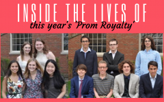 Shaw and Murray are prom royalty
