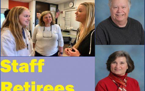 Three staff members set to retire