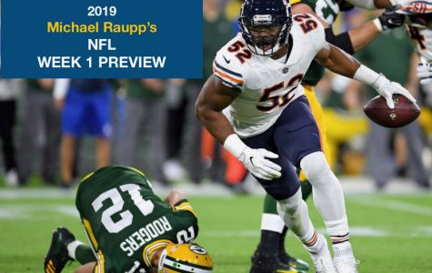 NFL Week 1 Preview: After last year's season opener collapse, will the Bears start their season off differently this time around?