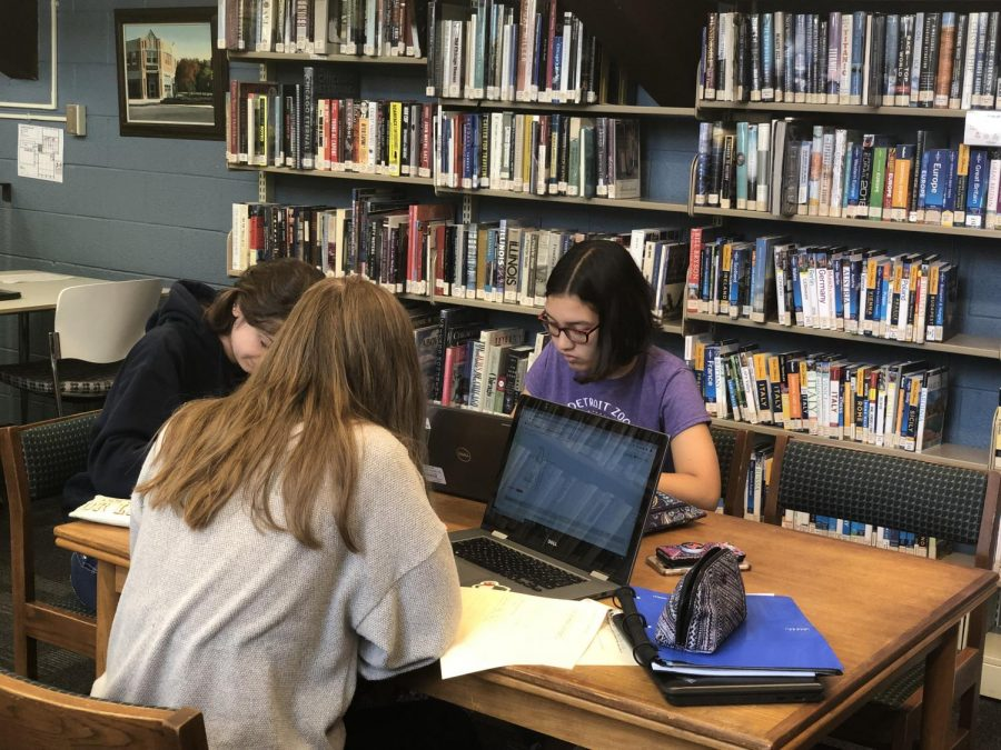 The Lake Bluff Library provides many services, including functional outlets and elegant wooden tables. Now residents of the unincorporated lands surrounding the village can enjoy this quiet refuge of small-town Americana.