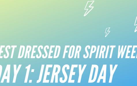 Spirit Week Day 1: Jersey Day!