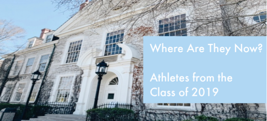 Where Are They Now? Athletes from the Class of 2019