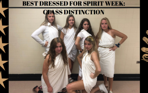 Spirit Week Day 4: Class Distinction Day!