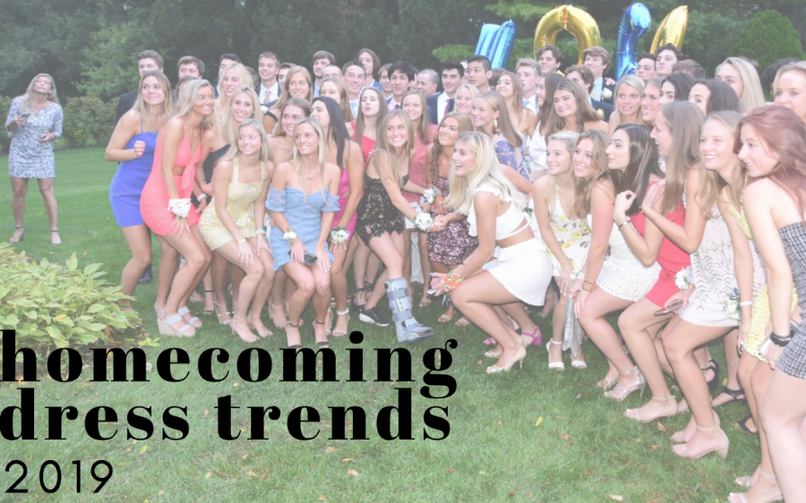 This Year's Homecoming Dress Trends