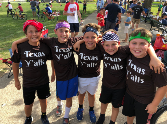The Texas Ya'lls — a collection of five sixth graders — went on a cinderella run in last Saturday's tournament.