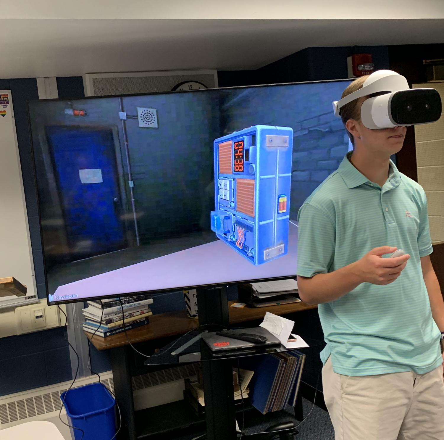 Virtual reality allows students to explore world – The