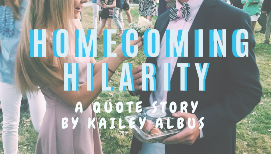 Homecoming Hilarity: A Quote Story