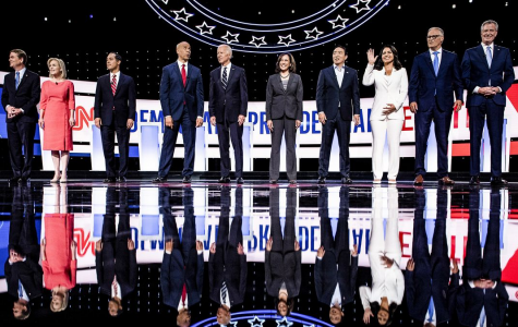 10 of the 20 candidates who participated in the Democratic Primary Debates in July