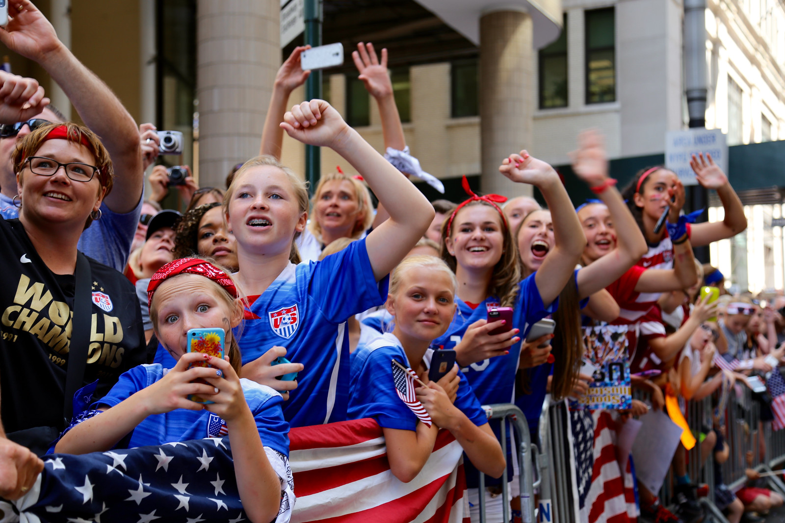 US Women's Soccer World Champions Ticker Tape Parade | by NYCDOT