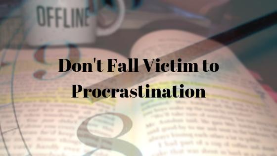 A Master Procrastinator's Guide on How to Not Procrastinate