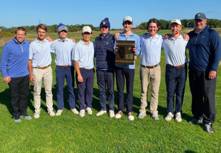 Boys Golf wins Regionals