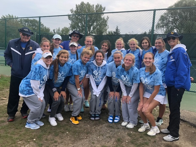 Girls Tennis Team Heads To State For Second Straight Season
