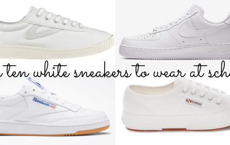 Top 10 White Sneakers to wear for High School