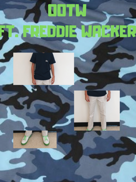 Outfit of the Week featuring Freddie Wacker