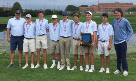 Varsity Golf Wins Conference for Second Straight Year