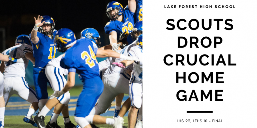 Scouts Drop Key Game Against Libertyville at Home