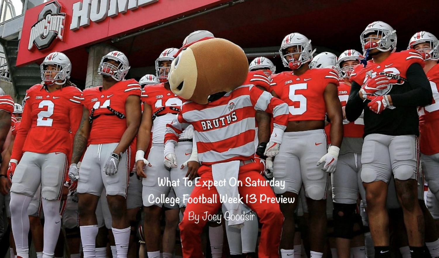 Ohio State is an undefeated #2, and the only thing preventing them from leading them all is a big time performance in a big time game. They get their opportunity this week.