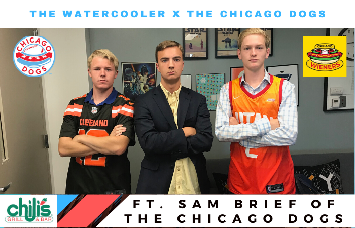 The Watercooler: Interview with Chicago Dogs Broadcaster Sam Brief
