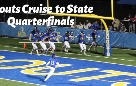 Dominant Performance From Scouts Paves Way to State Quarterfinals