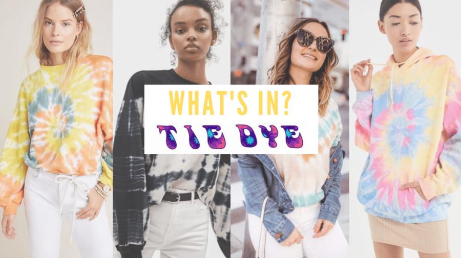 What's in- the tie-dye craze