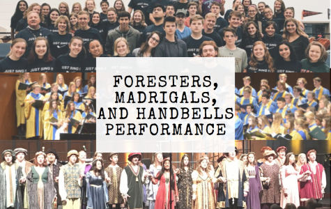 Foresters, Madrigals, and Handbells to perform at the Senior Star today