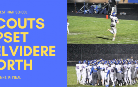 Dominant Second Half Lifts Scouts to Second Round of the IHSA Playoffs