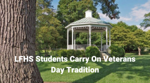 Students Carry On Lake Bluff Veterans Day Tradition