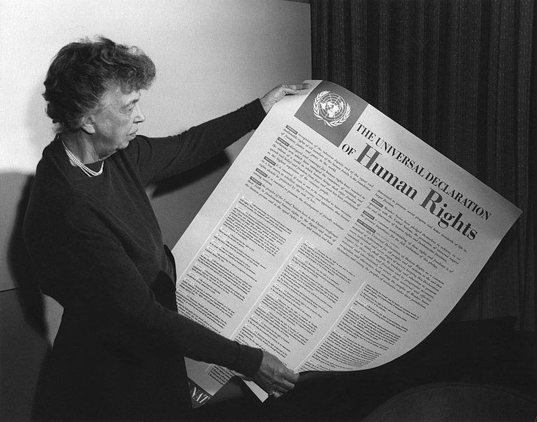 The passage of the Universal Declaration of Human Rights represents a triumph of democratic internationalism. The United States and her allies can indeed guide the nations of the world toward a better tomorrow — if only they would try.