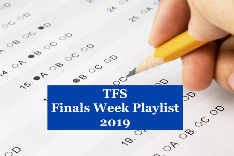 TFS' Study Playlist for Finals Week