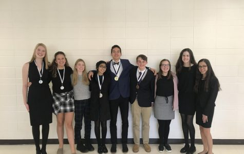 Speech Team Builds Confidence, Wins Awards
