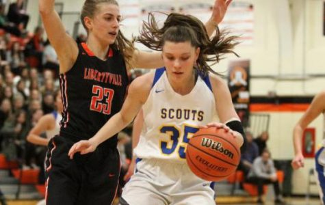 Junior Lilly Trkla has played a big role for the Scouts off the bench with the Scouts dealing with injuries.